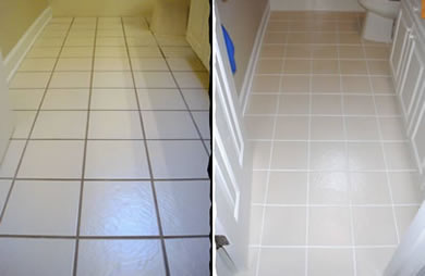 ColorClad Grout Sealing Before & After 2